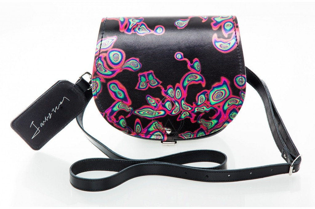 Jacky Tsai Petrol Saddle Bag from £85 click to visit Zatchels