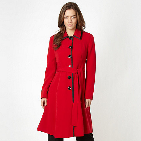 Red trench coat £79.20 click to visit Debenhams