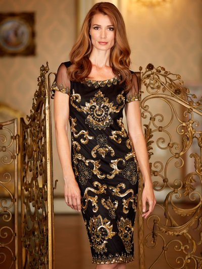Sequin embellished shift dress £89 click to visit M&Co