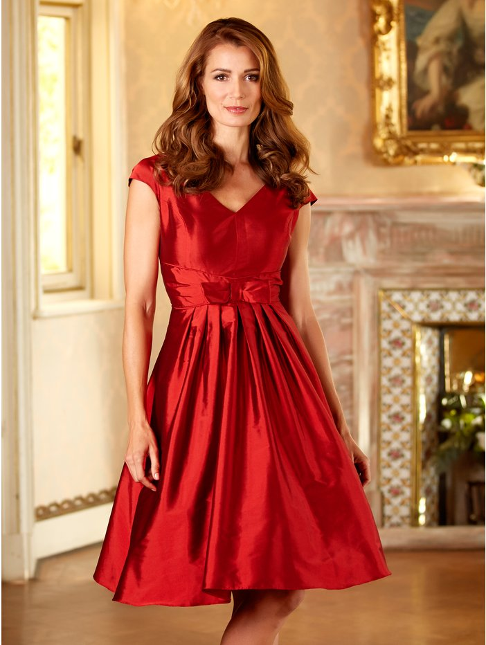 Red bow prom dress £69 click to visit M&Co