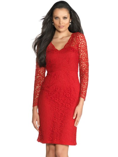 Red lace dress £79 click to visit M&Co