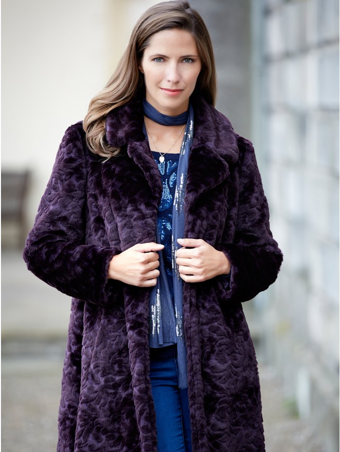 Baroque fur coat £115 click to visit M&Co