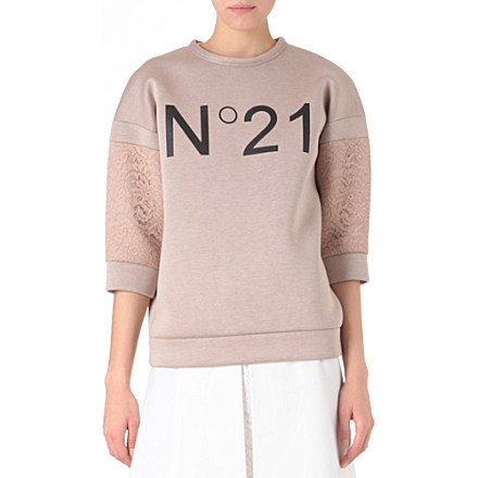 NO. 21 Logo-print sweatshirt     £230.00 click to visit Selfridges