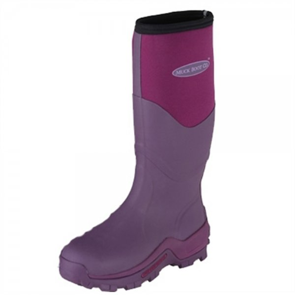 The Muck Boot Company Greta Fuchsia, Ideal for muddy fields   code:MUCK-GRE-Fuchsia £89.95 click to visit Jellyegg