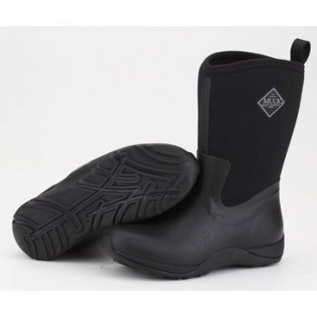 The Muck Boot Company Arctic Weekend Plain Black, Mid height, lightweight, fleece lined neoprene winter welly  £96.95 click to visit Jellyegg