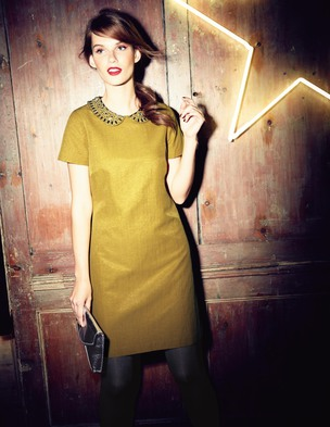 Jewelled Tunic Dress WH590 (Was £129.00 ) now £90.30 click to visit Boden