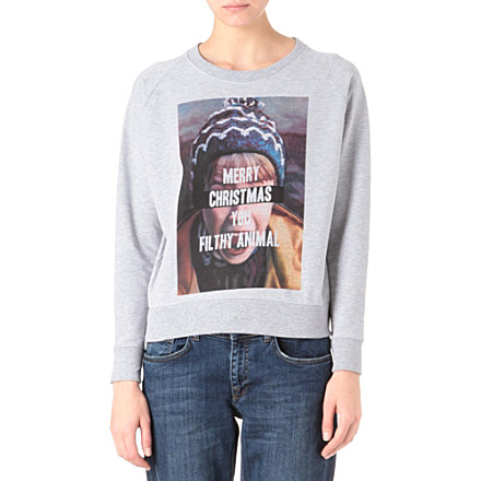 ELEVEN PARIS Home Alone Christmas sweatshirt     £50.00 click to visit Selfridges