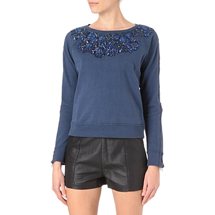 NEEDLE AND THREAD Embellished jumper     £120.00 click to visit Selfridges