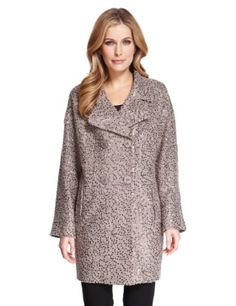 M&S Collection Sequin Embellished Coat with Wool £99 click to visit M&S