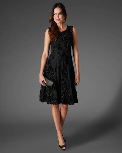 Callula Fit and Flare Dress £225.00 click to visit Phase Eight
