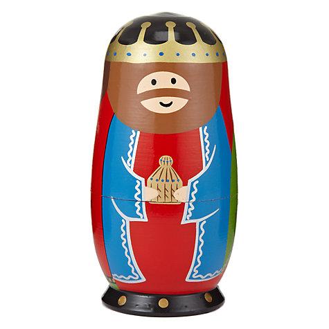 John Lewis Nativity Scene Russian Dolls £12 click to visit John Lewis