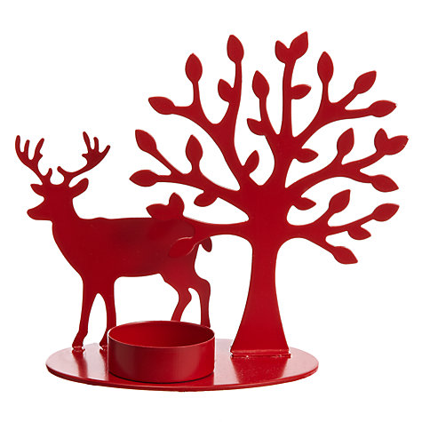House by John Lewis Reindeer Tealight Holder £7 click to visit John Lewis