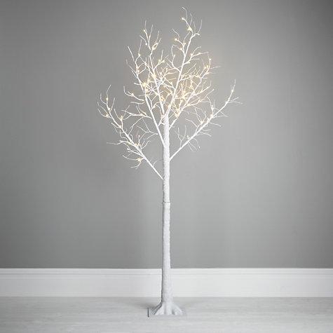 John Lewis Oudoor Pre-lit Paper Tree, White, 6.5ft  £95 click to visit John Lewis