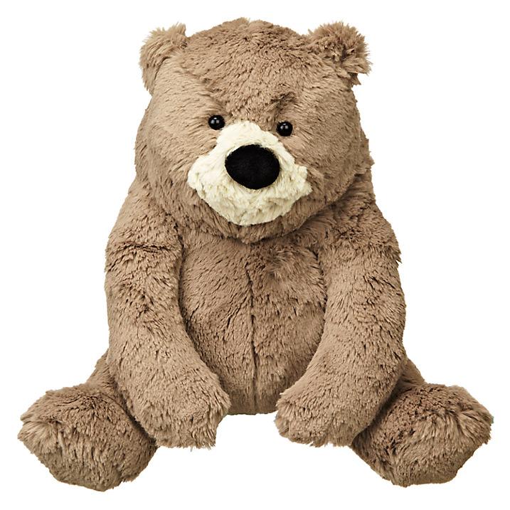 John Lewis Bear & Hare Bear Plush Toy, Brown £12 click to visit John Lewis