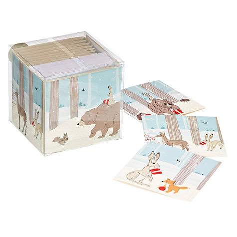 John Lewis Bear & Hare Charity Christmas Cards, Box of 30 £3.50 click to visit John Lewis