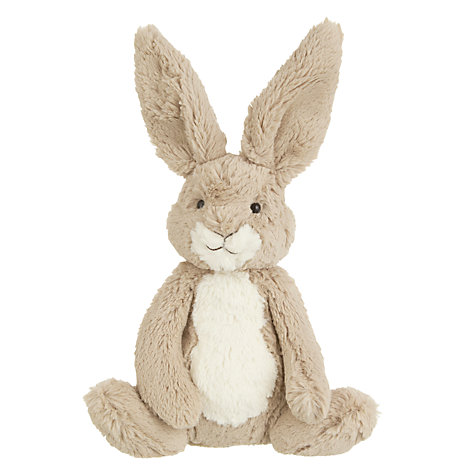 John Lewis Bear & Hare Hare Plush Toy, Brown £12 click to visit John Lewis