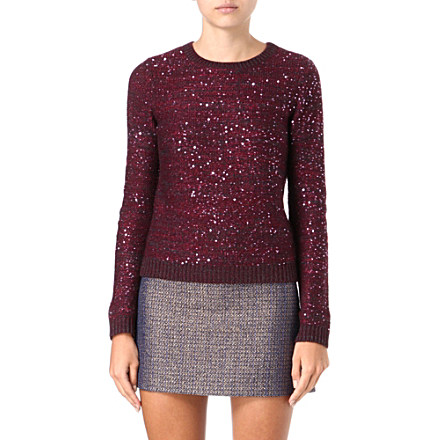 ALICE & OLIVIA Macy sequined jumper     £275.00 click to visit Selfridges