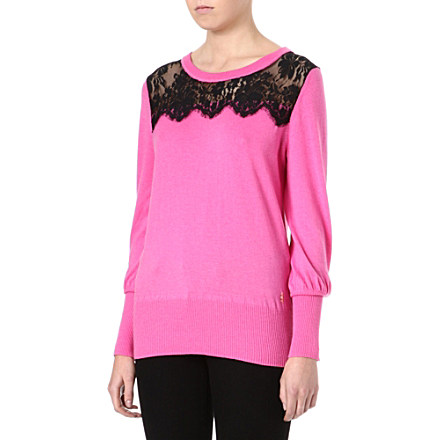 JUICY COUTURE Nicola lace jumper     £130.00 click to visit Selfridges