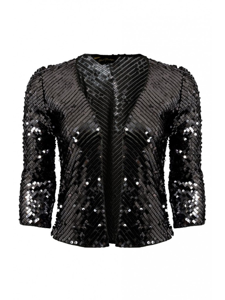 Black Sequin Jacket £18 click to visit Select