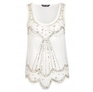 Cream Scallop Beaded Top £18 click to visit Select