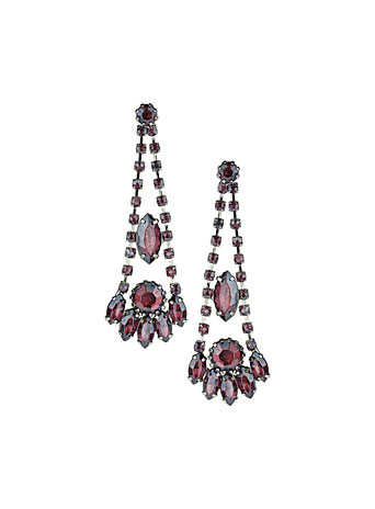 Rhinestone chandelier earrings     Price: £12.50 click to visit Dorothy Perkins