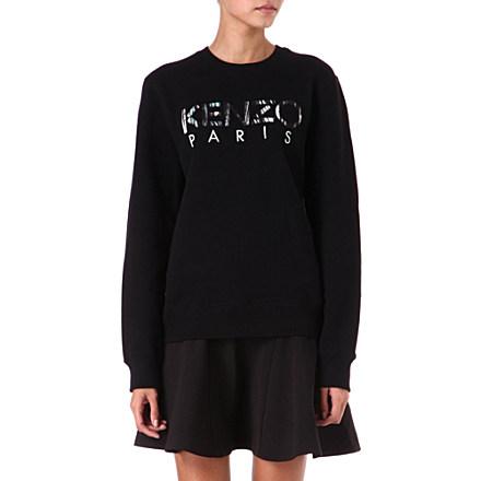 KENZO Logo sweatshirt     £155.00 click to visit Selfridges