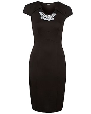 Embellished Necklace Dress £18.00 click to visit George at Asda