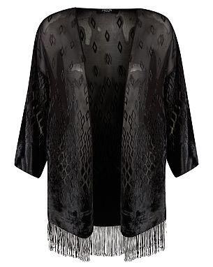 Moda Fringe Kimono £20.00 click to visit George at Asda