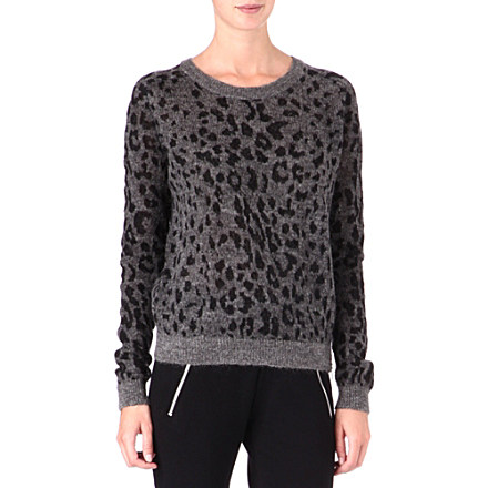 THE KOOPLES SPORT Leopard-print jumper     £165.00 click to visit Selfridges