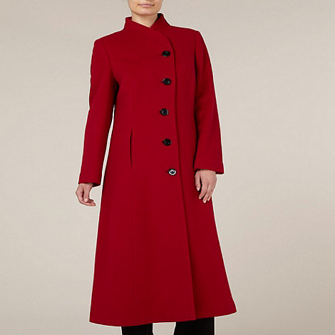 Long Fit and Flare Red Coat £167.20 click to visit Debenhams
