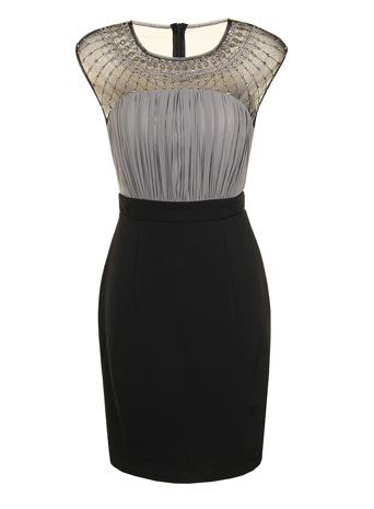 Floral lace bodycon dress     Price: £55.00 click to visit Dorothy Perkins
