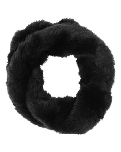 Twist Faux Fur Snood £35.00 click to visit Phase Eight
