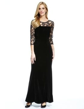 M&S Collection Lace Yoke Bodice Maxi Dress £59 click to visit M&S