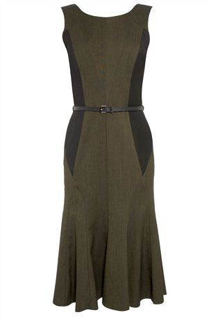 Khaki Belted Dress £45 click to visit Next