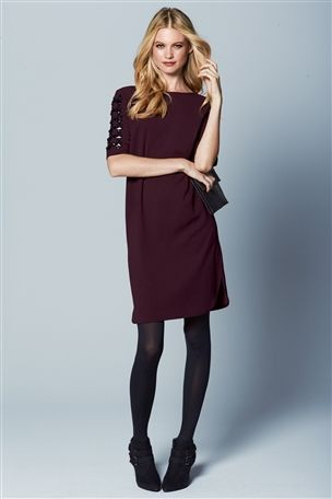 Jewel Sleeve Shift Dress £60 click to visit Next