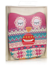 Knitted Owl Cosy Cushion Hottie £18 click to visit Accessorize