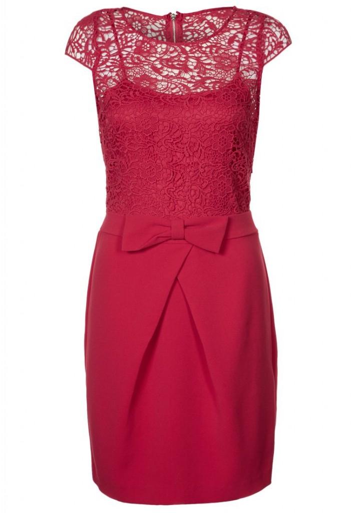 Morgan REDAR - Cocktail dress / Party dress - red More Morgan   More Cocktail Dresses £65 click to visit Zalando