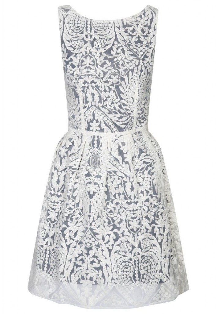 NAF NAF ORGANZA - Cocktail dress / Party dress - white £85 click to visit Zalando