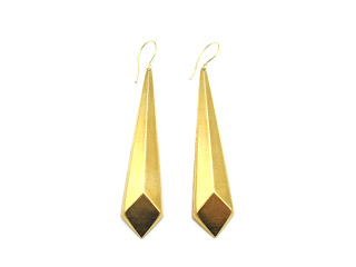 Pyramid Drop Earrings - The Natasha Hamilton Collaboration £20 click to visit Zara Taylor London