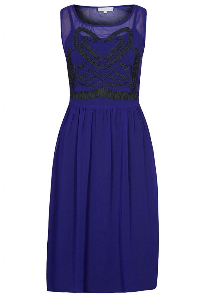Zalando Collection Cocktail dress / Party dress - blue £60 click to visit Zalando