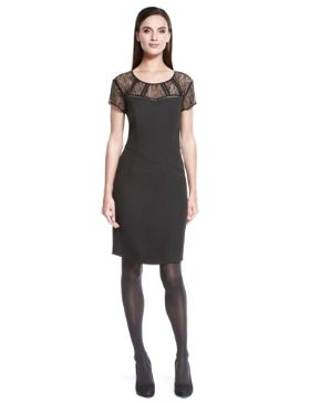 Autograph Lace Top Bodycon Dress £69 click to visit M&S