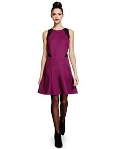 Limited Edition Mesh Panelled Fit & Flare Skater Dress£39.50 click to visit M&S