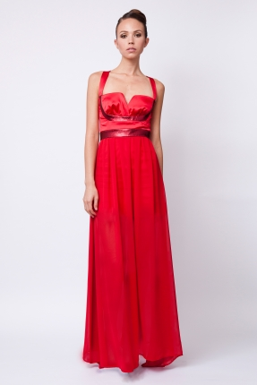 Dress - Ghia - red £1146 click to visit Carnet de Mode