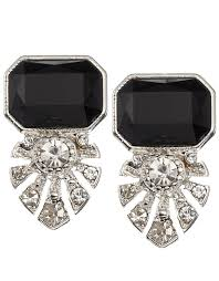 Deco Shield & Stone Earrings £8 click to visit Accessorize