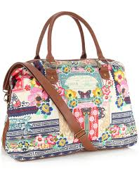 Floral Print Butterfly Weekender Bag £29 click to visit Accessorize