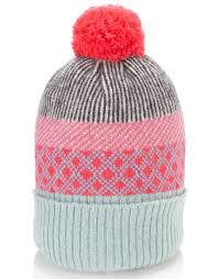 Bubble Fairisle Beanie £19 click to visit Acessorize