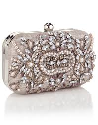 Kate Hardcase Encrusted Clutch £55 click to visit Accessorize