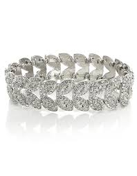 Deco Petal Stretch Bracelet £15 click to visit Accessorize