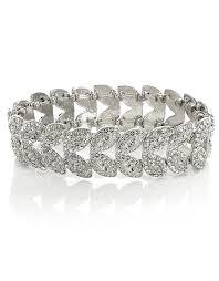 Deco Petal Stretch Bracelet £15 click to visit Accessorize