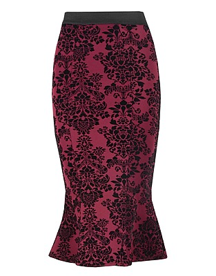 Flock Flippy Hem Midi Skirt £10 click to visit Select